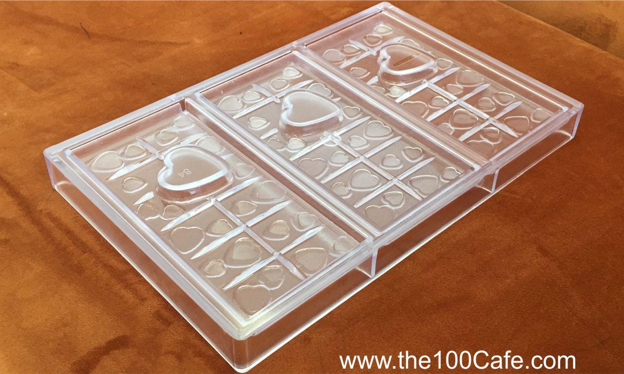 Khuôn Sô Cô La nhựa cứng S233