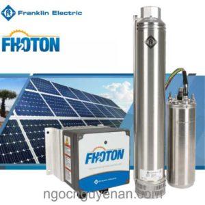 Hệ thống máy bơm chìm hỏa tiễn năng lượng mặt trời Fhoton SolarPak