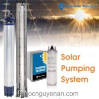 Hệ thống máy bơm hỏa tiễn năng lượng mặt trời hiệu suất cao