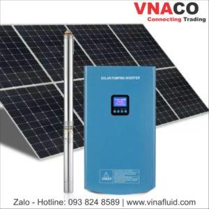Bơm năng lượng mặt trời loại hỏa tiễn công suất 0.75kW 1.5kW và 2.2kW