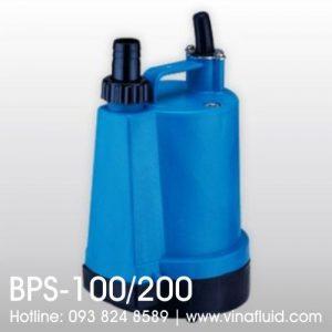 Bơm chìm APP BPS-100 và BPS-200 vỏ nhựa bơm tuần hoàn và nước thải