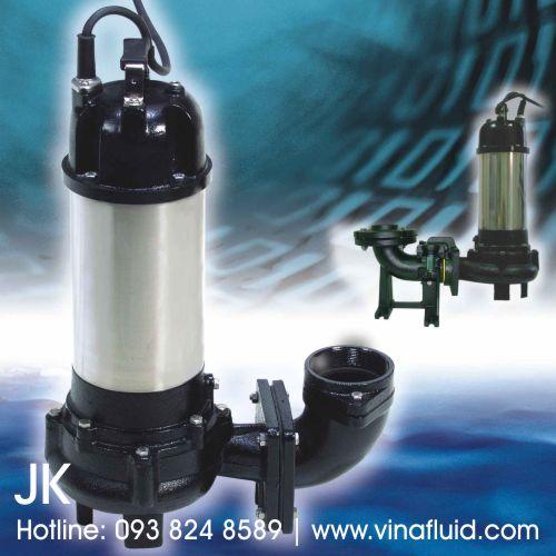 Máy bơm chìm hố móng APP JK sản xuất tại Đài Loan