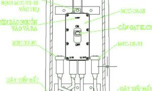 Hướng dẫn cách lắp đặt hộp nối kín nước trụ đèn MTC-TR-3S