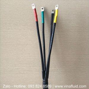 Đầu cáp ngầm co nhiệt hạ thế TTE dùng cho cáp 4 cores