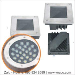 Đèn LED âm đất kiểu tròn và vuông 3W đến 36W