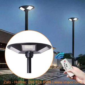Đèn điện mặt trời 200W kiểu UFO đường kính 550mm lắp sân vườn