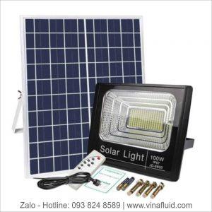 Đèn pha điện mặt trời 100W JD-8800L Jindian
