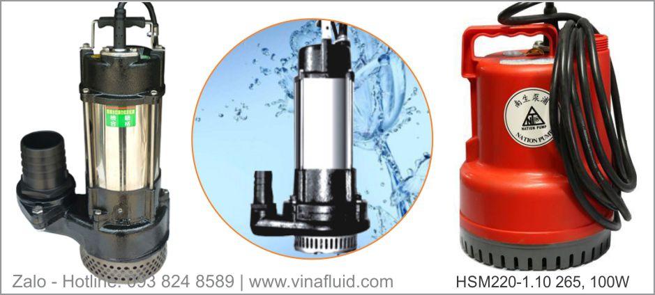 Máy bơm chìm hút nước thải NTP dòng HSM