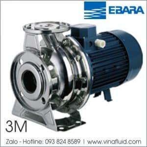 Máy bơm nước Ebara 3M ly tâm trục ngang buồng và cánh bơm Inox 304