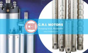 Máy bơm giếng khoan CRI 4 inch đến 10 inch nhập khẩu Ấn Độ