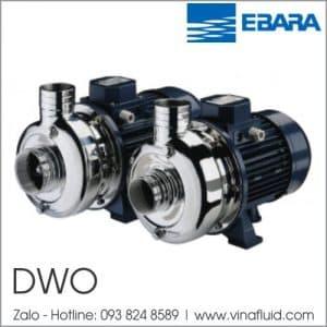 Bơm thải đặt cạn ly tâm trục ngang Ebara DWO