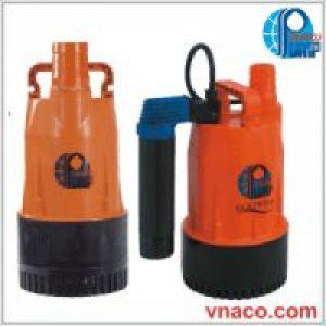 Bơm nước thải Showfou vỏ nhựa GF 680W và GFA có phao