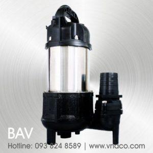Bơm nước thải Đài Loan hiệu APP dòng BAV