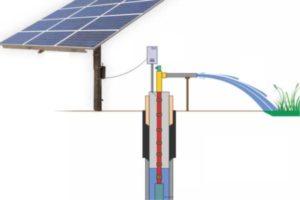 Máy bơm nước năng lượng mặt trời công suất lớn