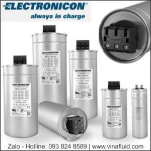 Các loại tụ bù công suất 3 pha Tibcon India và Electronicon Đức
