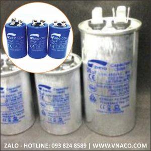 Tụ đề máy bơm nước và tụ ngậm dùng cho động cơ