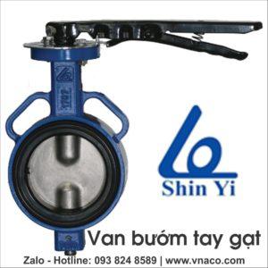 Bảng giá các loại van bướm hiệu Shin Yi