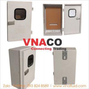Vỏ tủ Composite gắn điện kế và MCCB 500x300x200